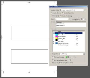 Поиск лишнего цвета в PDF