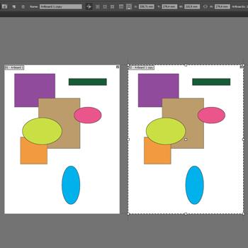 Как дублировать страницу в иллюстраторе